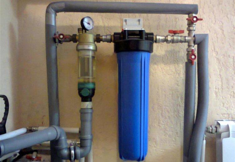 Механический фильтр для очистки колодезной воды от крупной грязи