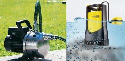 Наружные и погружные насосы для канализации