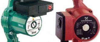 Основы выбора и монтажа циркуляционных насосов для отопления