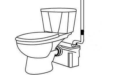 Особенности установки фекального насоса с измельчителем для туалета