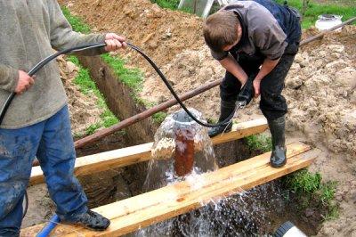 Особенности установки фильтра для обезжелезивания воды из скважины