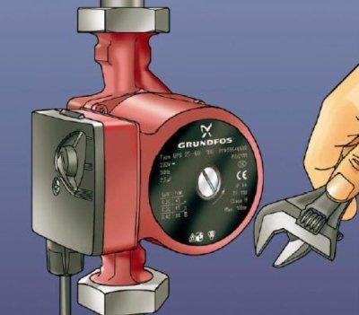Особенности установки насосов для систем отопления