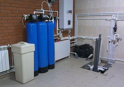 Порядок установки фильтрующей проточной системы для скважины