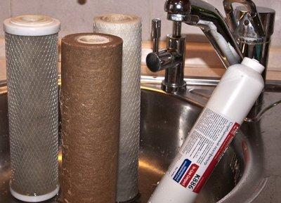 Порядок установки угольного фильтра для воды из скважины