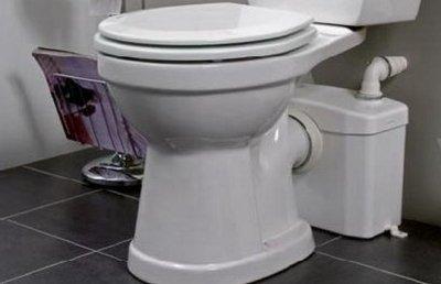 Последовательность установки канализационного насоса к унитазу