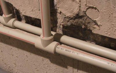 Применение армированных стекловолокном полипропиленовых труб для отопления