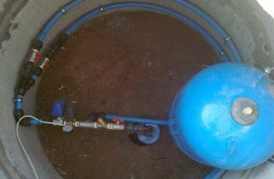 Работы, которые следует сделать перед установкой фильтра для очистки воды на даче от железа