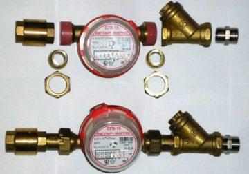 Схема подключения фильтра грубой очистки воды перед счетчиком