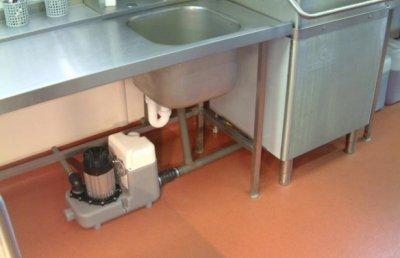 Установка системы принудительной канализации своими руками