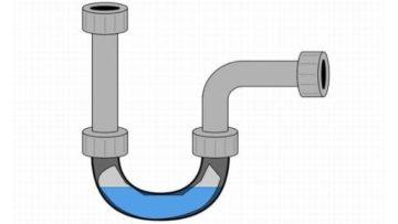 водяной замок для канализации