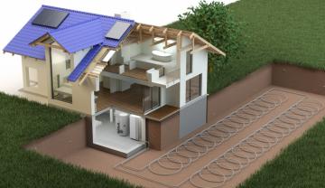 Обогрев дома тепловым насосом – виды, принцип работы