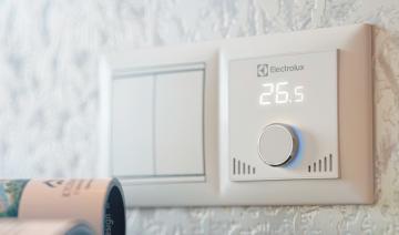 Терморегулятор на теплый пол водяной
