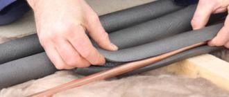 Утепленная труба для водопровода – выбор утеплителя, правила проведения работ на улице