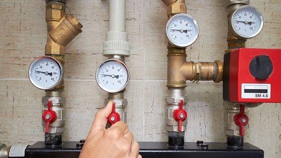 давление в системе холодного водоснабжения